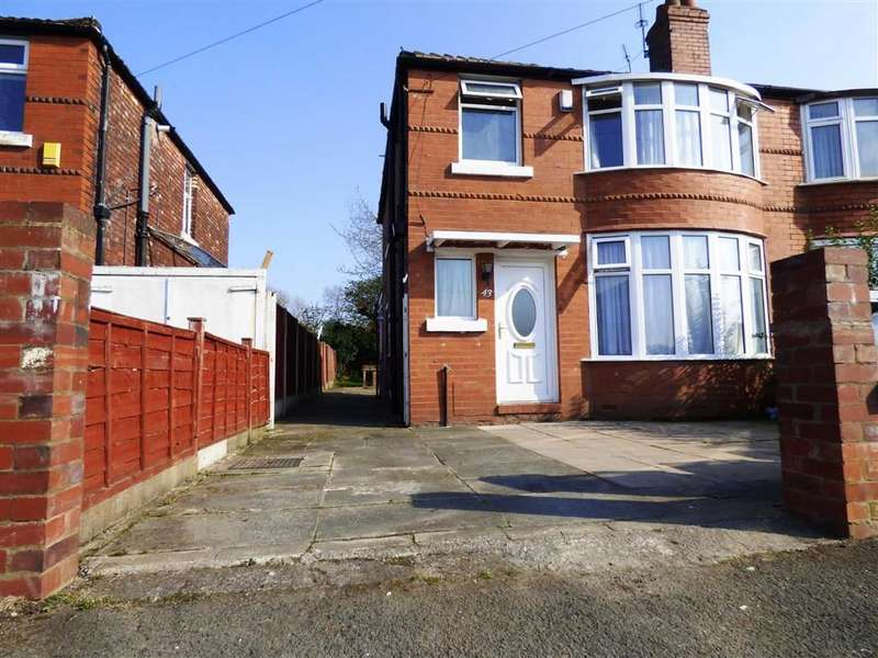3 Bedrooms Semi Detached House for sale in Finchley Road, Fallowfield, Manchester, M14