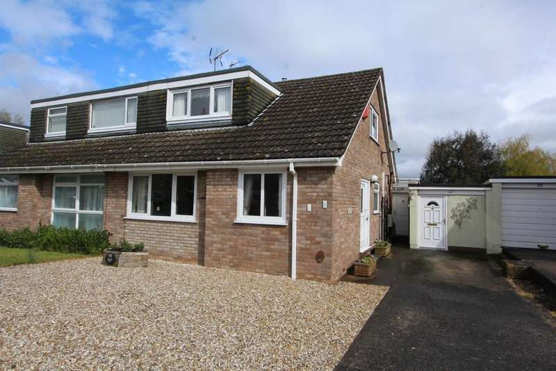 3 Bedrooms Semi Detached House for sale in Spacious semi-detached with large garden