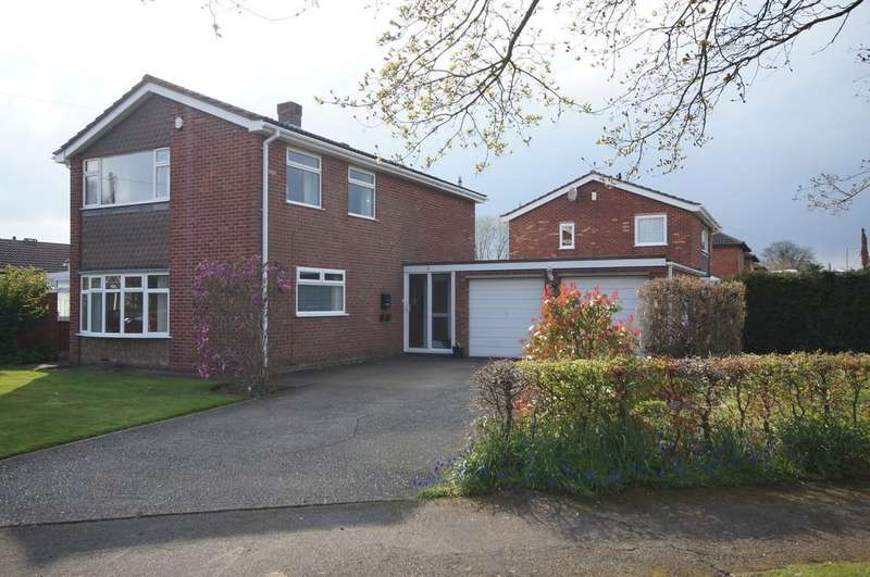 4 Bedrooms Detached House for sale in Canterbury Drive, Washingborough, Lincoln