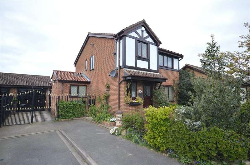 4 Bedrooms Detached House for sale in Old Garth Croft, Fairburn, Knottingley