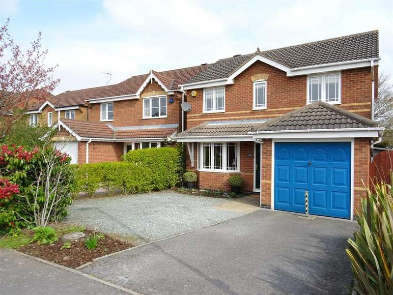 3 Bedrooms Detached House for sale in The Oval, Coalville, Leicestershire