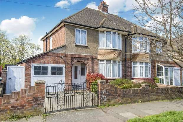 3 Bedrooms Semi Detached House for sale in Byron Crescent, Bedford