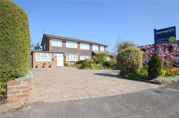 3 Bedrooms Semi Detached House for sale in Lillibrooke Crescent, Maidenhead, Berkshire