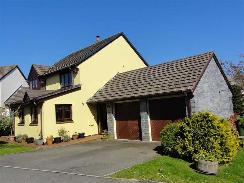 4 Bedrooms Detached House for sale in The Paddocks, Dolton, Winkleigh, Devon, EX19