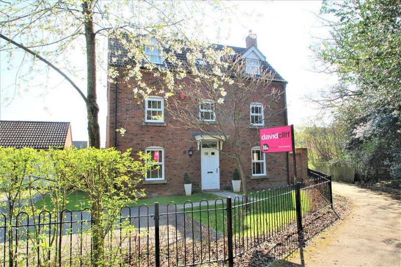 4 Bedrooms Detached House for sale in Bilberry Gardens, Mortimer, RG7