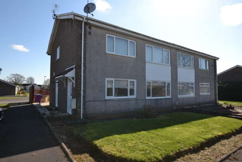 2 Bedrooms Flat for sale in Glenbervie Drive, Kilwinning, North Ayrshire, KA13 6QH