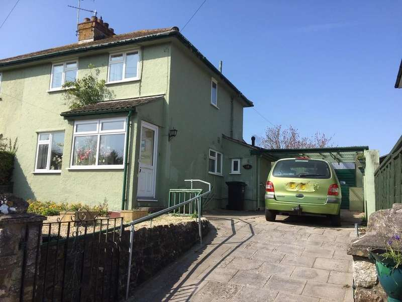 2 Bedrooms Semi Detached House for sale in Semi detached house in large plot with beautiful views