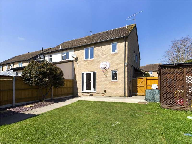 2 Bedrooms End Of Terrace House for sale in Derrick Close, Calcot, Reading, Berkshire, RG31