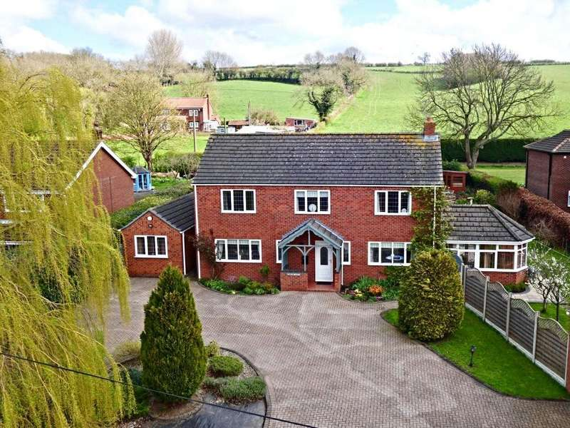 4 Bedrooms Detached House for sale in Main Street, Bonby, Brigg, Lincolnshire, DN20