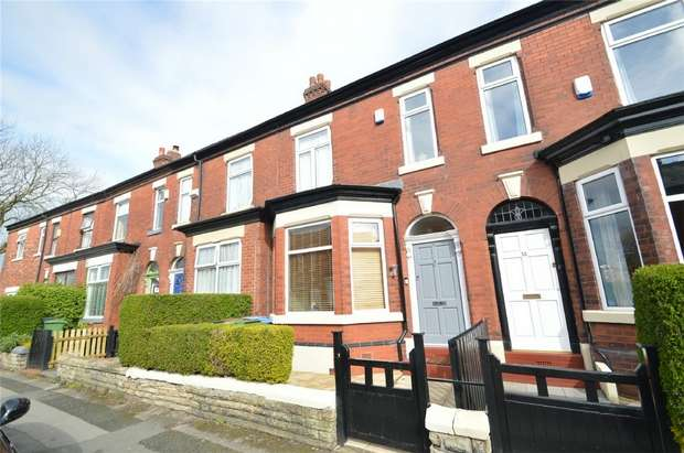 3 Bedrooms Terraced House for sale in Adswood Lane East, Cale Green, Stockport, Cheshire