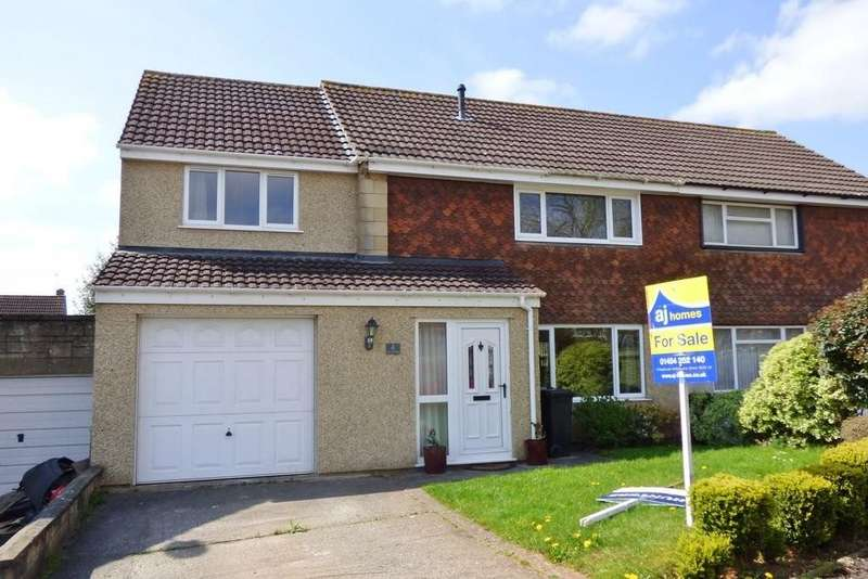 4 Bedrooms Semi Detached House for sale in The Ridings, Coalpit Heath