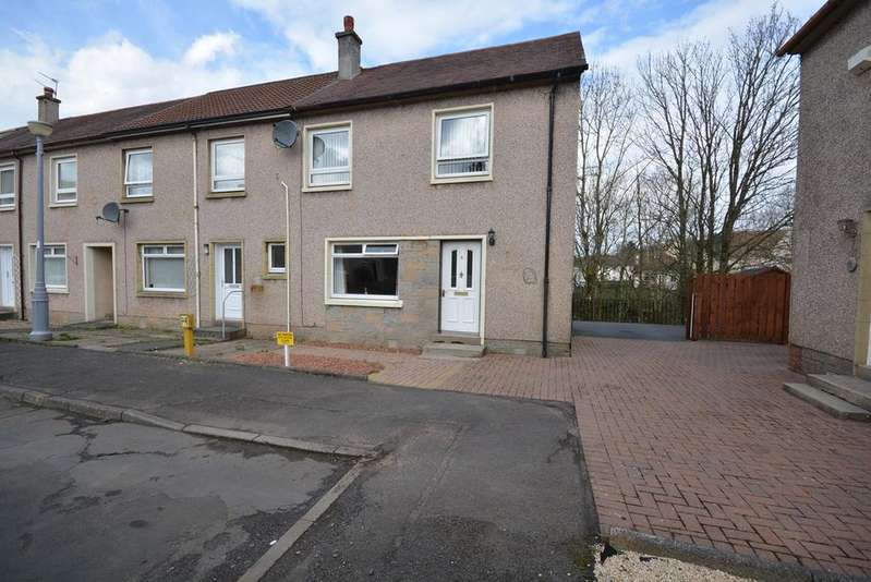 2 Bedrooms End Of Terrace House for sale in Strath Crescent, Newmilns, KA16