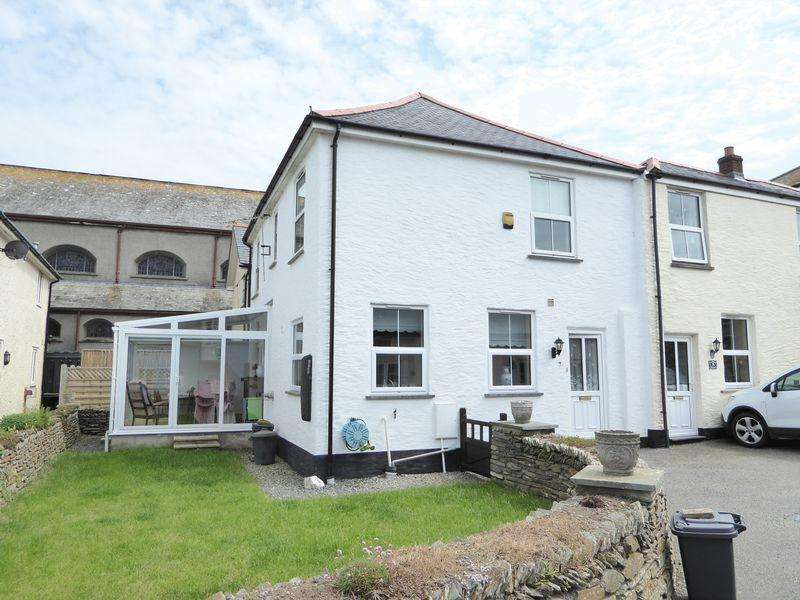 4 Bedrooms Semi Detached House for sale in Fore Street, Tintagel