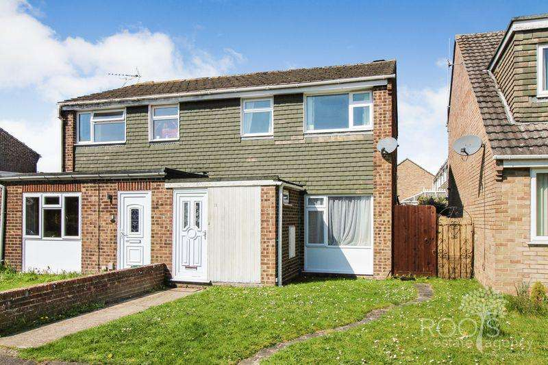 3 Bedrooms Semi Detached House for sale in Shelley Road, Thatcham