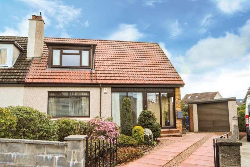 3 Bedrooms Semi Detached House for sale in East Drive, Larbert, Falkirk, FK5 3EL