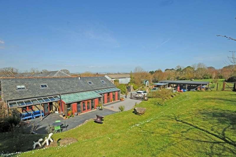 3 Bedrooms Barn Conversion Character Property for sale in Alston Lane, Alston nr Brixham, Devon