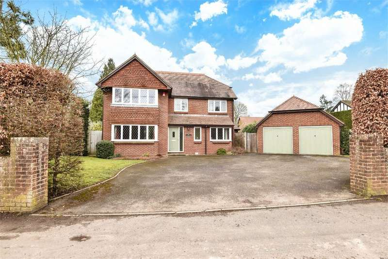4 Bedrooms Detached House for sale in Springvale Road, Kings Worthy, Winchester, Hampshire, SO23