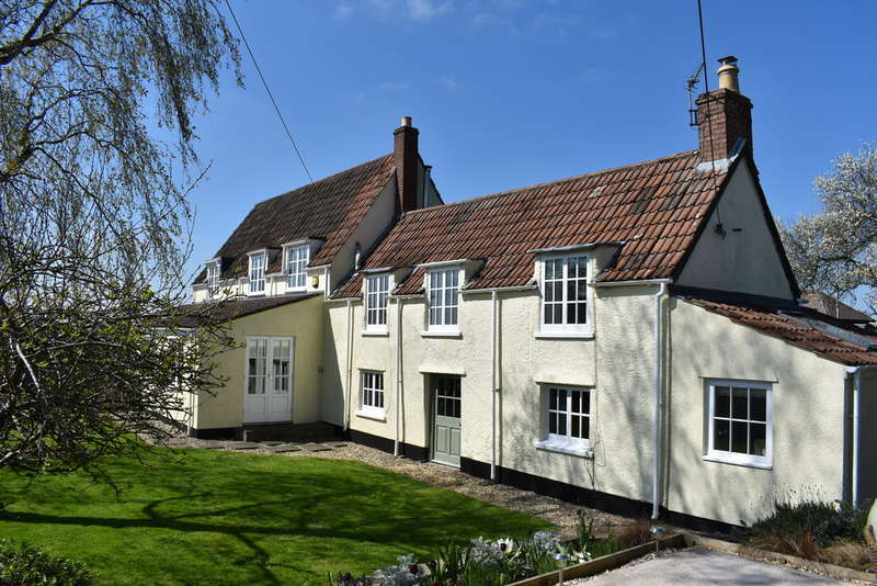 4 Bedrooms Cottage House for sale in The Square, Bagley, Nr Wedmore