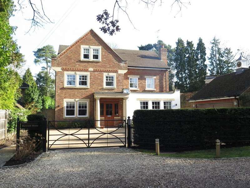 5 Bedrooms Detached House for sale in EXQUISITELY DECORATED, RAVENSDALE ROAD, SOUTH ASCOT, BERKSHIRE, SL5 9HL