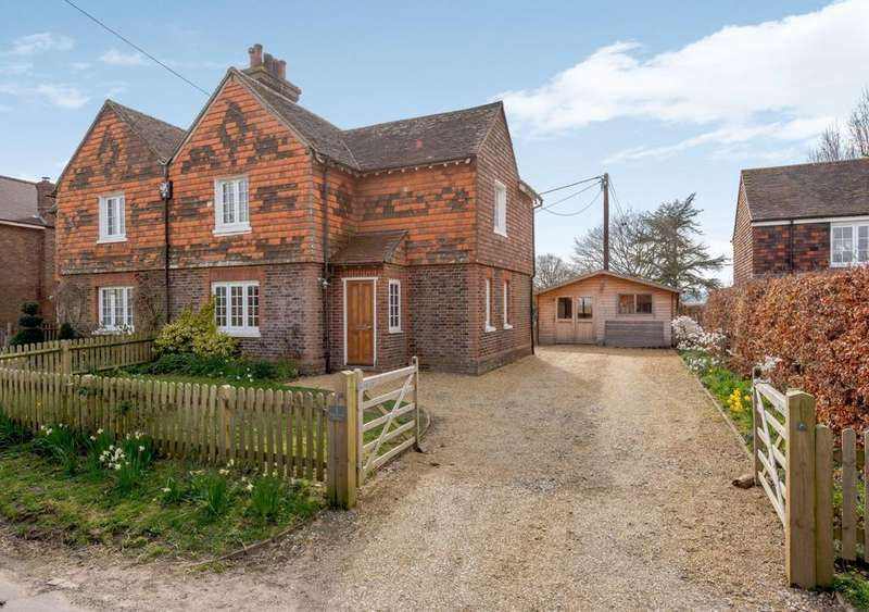 3 Bedrooms Semi Detached House for sale in Church Lane Cottages, Church Lane, Ripe, East Sussex