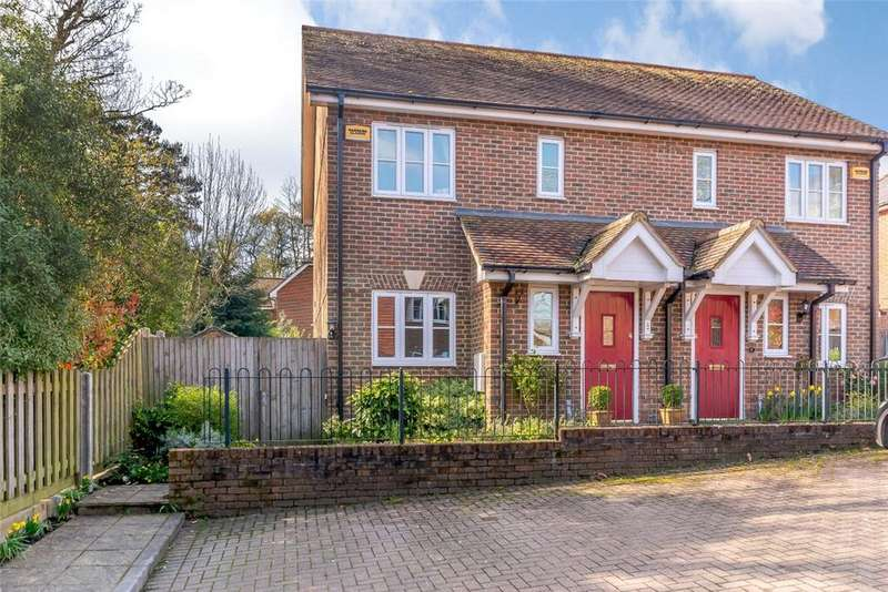 2 Bedrooms Semi Detached House for sale in Crockers Mead, Gore End Road, Ball Hill, Newbury, Hampshire, RG20
