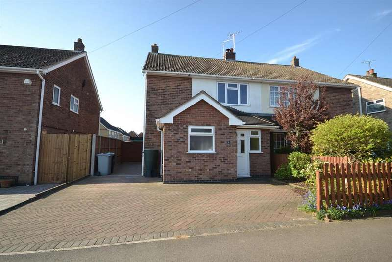 3 Bedrooms Semi Detached House for sale in Caithness Road, Stamford