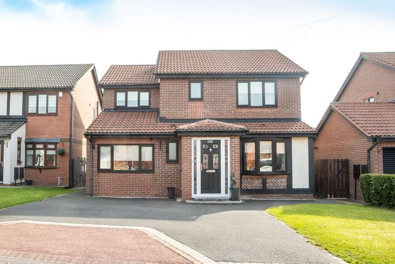 4 Bedrooms Detached House for sale in Canonsfield Close, Newcastle Upon Tyne NE15