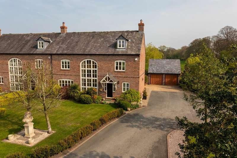 4 Bedrooms Semi Detached House for sale in Swettenham, Congleton