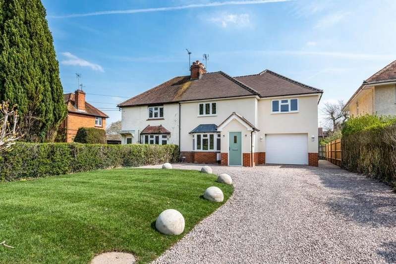 4 Bedrooms Semi Detached House for sale in Swallowfield, Reading, RG7