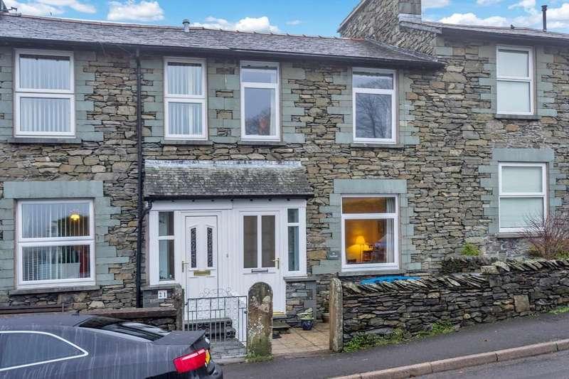 3 Bedrooms Terraced House for sale in 23 Craig Walk, Windermere, Cumbria, LA23 2HB