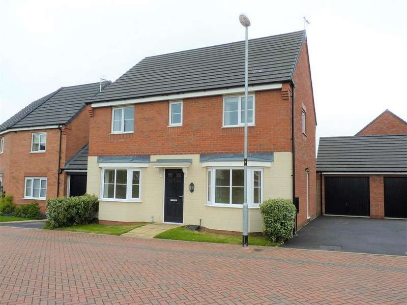 4 Bedrooms Detached House for rent in Moseley Avenue, Market Harborough