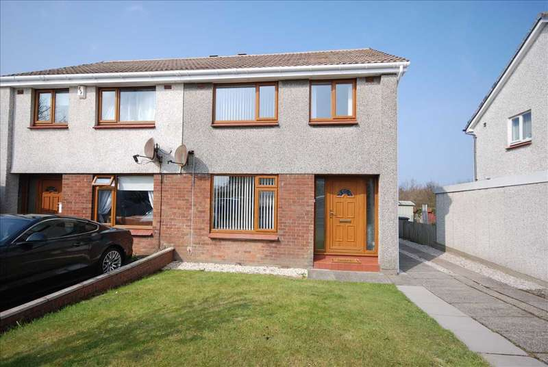 3 Bedrooms Semi Detached House for sale in Island View, Ardrossan