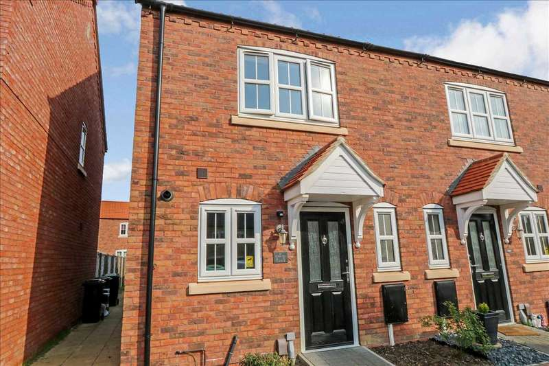 2 Bedrooms End Of Terrace House for sale in Grafham Drive, Waddington, Lincoln