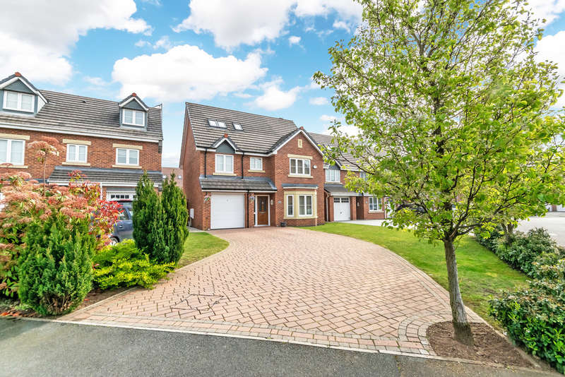 6 Bedrooms Detached House for sale in Snowberry Crescent, Sankey Bridges, Warrington