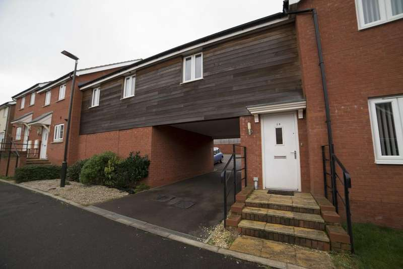 1 Bedroom Coach House Flat for sale in Seyd Wood Road, Cinderford GL14