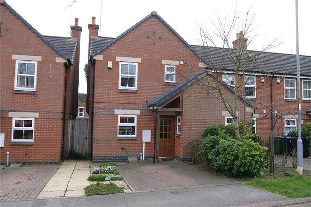3 Bedrooms End Of Terrace House for sale in Old School Mews, Market Harborough, Leicestershire