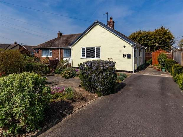 2 Bedrooms Semi Detached Bungalow for sale in Golf Road, Mablethorpe, Lincolnshire
