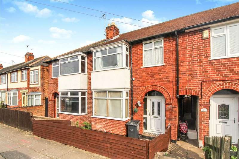 3 Bedrooms Terraced House for sale in Percy Road, Leicester, LE2