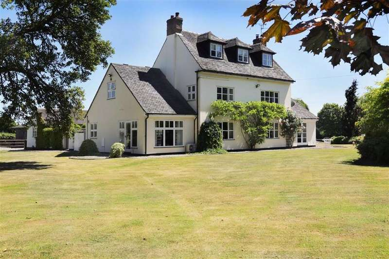 5 Bedrooms Detached House for sale in Yew Tree Lane, Bridgemere Nantwich, Cheshire