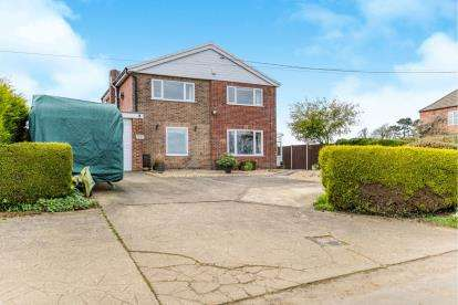4 Bedrooms Detached House for sale in Mill Lane, Scamblesby, Louth, Scamblesby