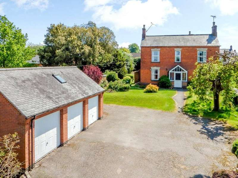 5 Bedrooms Detached House for sale in Church Street, Billesdon, Leicester