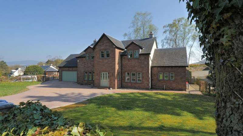 4 Bedrooms Detached House for sale in School Road, Gartocharn, Stirlingshire, G83 8RT