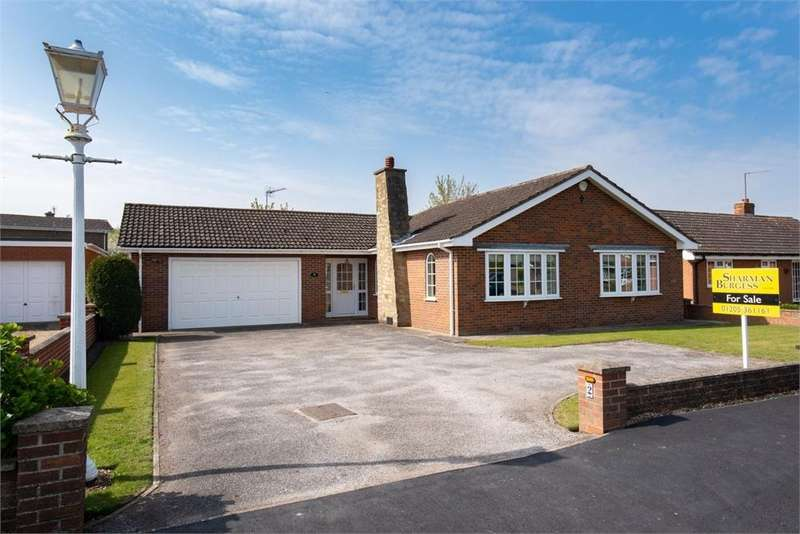 2 Bedrooms Detached Bungalow for sale in Westfield Drive, Swineshead, Boston, Lincolnshire