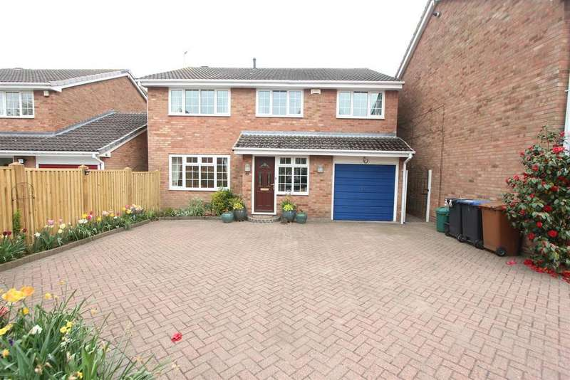 4 Bedrooms Detached House for sale in Gladstone Close, Hinckley