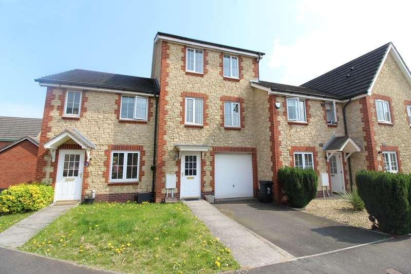 3 Bedrooms Terraced House for sale in Criccieth Close, Newport, NP10