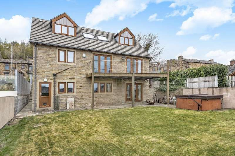 5 Bedrooms Detached House for sale in EDGE ROAD, DEWSBURY, WF12 0QD