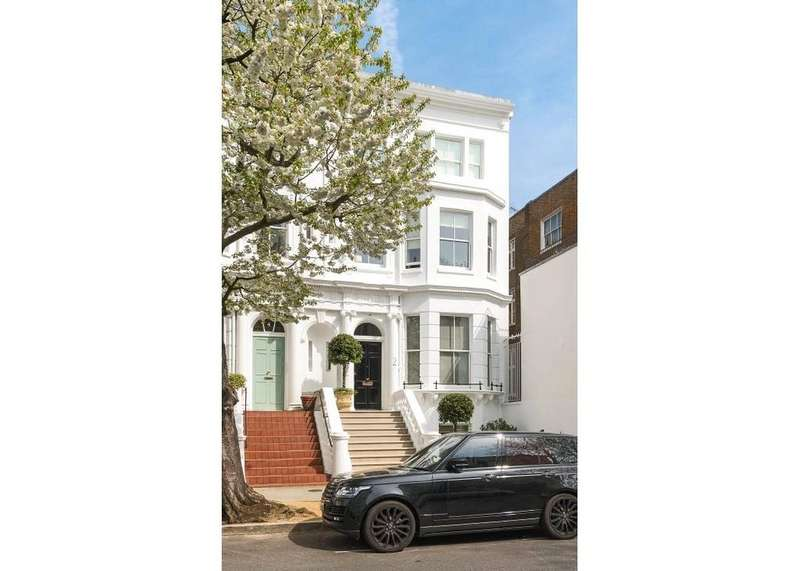 5 Bedrooms Semi Detached House for sale in Brunswick Gardens, London, W8