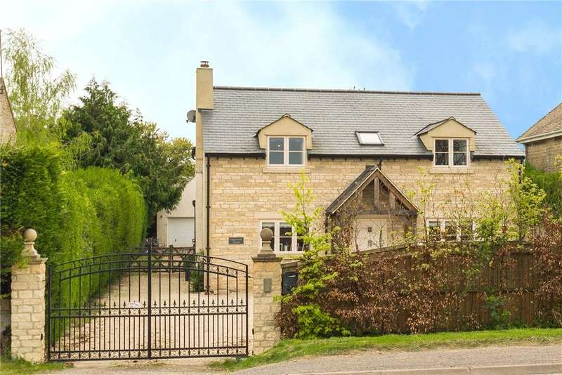 4 Bedrooms Detached House for sale in Burford Road, Minster Lovell, Witney, OX29