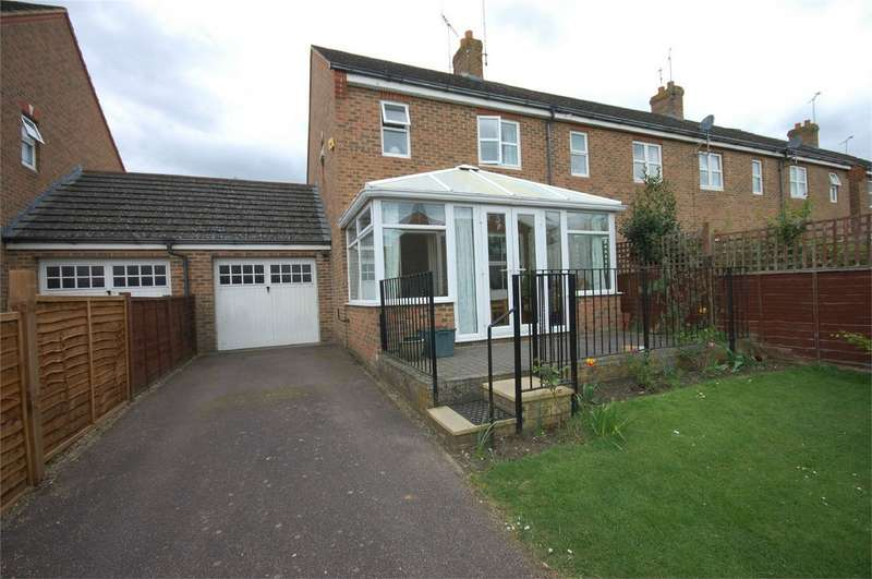 2 Bedrooms End Of Terrace House for sale in Great Meadow Way, Aylesbury, Buckinghamshire