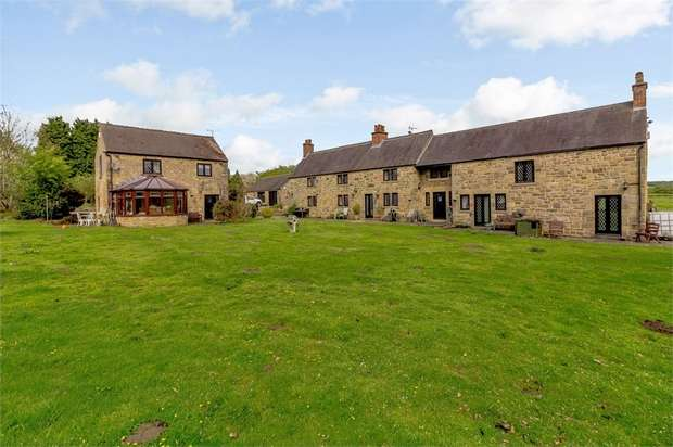 5 Bedrooms Detached House for sale in Booth Gate, Belper, Derbyshire